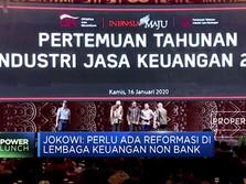 Jokowi Dukung Reformasi Lembaga Keuangan Non-Bank