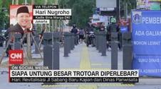 VIDEO: Siapa Untung Besar Trotoar Diperlebar