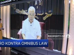 Telisik Cakupan RUU Omnibus Law, Ini Kata Satgas Omnibus Law