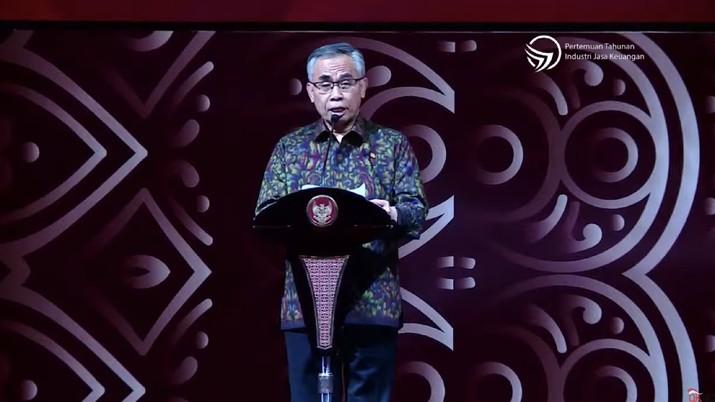 Ketua Dewan Komisioner Otoritas Jasa Keuangan (OJK) Wimboh Santoso mengungkapkan kondisi perbankan di Indonesia per Desember 2019.