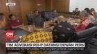 VIDEO: Tim Advokasi PDI-P Datangi Dewan Pers