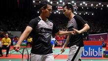 Hasil Indonesia Masters 2020: Ahsan/Hendra Lolos ke Final