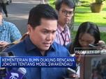 Kementerian BUMN Dukung Jokowi dalam Mobil Swakendali
