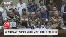 VIDEO: Menkes Antisipasi Virus Misterius Tiongkok
