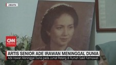 VIDEO: Artis Senior Ade Irawan Meninggal Dunia