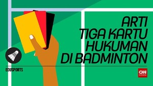Edusports: Arti Tiga Kartu Hukuman di Badminton
