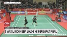 VIDEO: 7 Wakil Indonesia Lolos ke Perempat Final