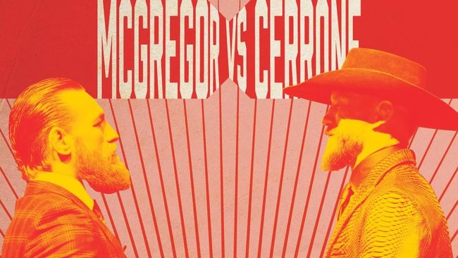 INFOGRAFIS: Tale of The Tape McGregor vs Cerrone Cowboy
