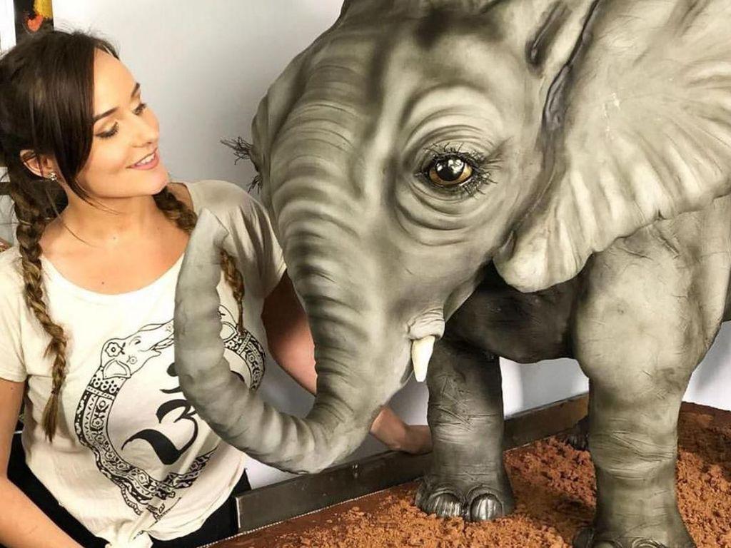 Mantan Make-up Artist Ini Bikin Kue Binatang 3D yang Super Nyata!