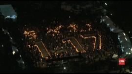 VIDEO: Air Mata Warga Jepang Peringati 25 Tahun Gempa Kobe