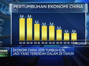 Tumbuh 6,1%, Ekonomi China Terlemah Dalam 29 Tahun