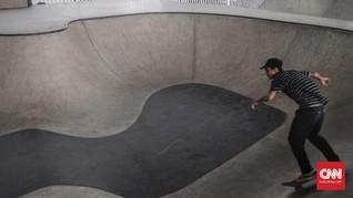 Skater soal Skatepark Pasar Rebo: Gratis, Tapi Banyak Sampah