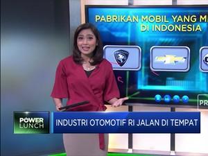 Industri Otomotif RI Jalan di Tempat