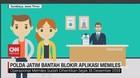 VIDEO: Polda Jatim Bantah Blokir Aplikasi Memiles