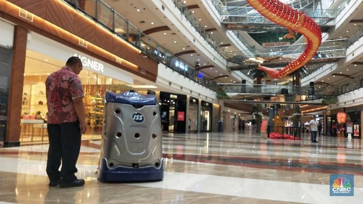 Robot Ini Gantikan Kerjaan Manusia Bersihkan Lantai Mal