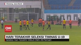 VIDEO: Shin Tae-Yong Seleksi 28 Pemain Timnas U-19