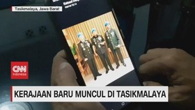 VIDEO: Heboh Muncul Kerajaan Baru di Tasikmalaya Mirip TNI