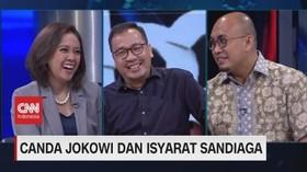 VIDEO: Canda Jokowi & Isyarat Sandiaga