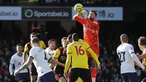Liga Inggris: Penalti Gagal, Watford vs Tottenham Imbang