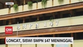 VIDEO: Loncat Dari Lantai Empat, Siswi SMPN 147 Meninggal