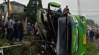 Jasa Raharja Proses Santunan Korban Kecelakaan Bus di Ciater