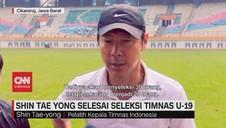VIDEO: Shin Tae Yong Kantongi 28 Pemain Skuat Timnas U-19