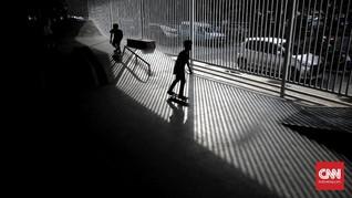 FOTO: Ingar Bingar Skate Park Gratis Pasar Rebo