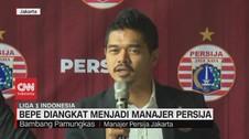 VIDEO: Bambang Pamungkas Diangkat Menjadi Manajer Persija