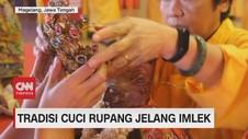 VIDEO: Tradisi Cuci Rupang Jelang Imlek