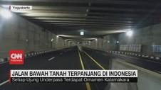 VIDEO: Jalan Bawah Tanah Terpanjang di Indonesia