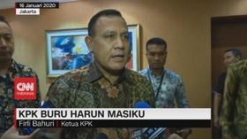 VIDEO: KPK Buru Harun Masiku
