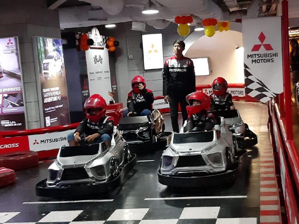 Mitsubishi Kenalkan Dunia Otomotif pada Anak