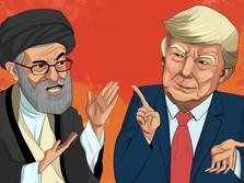 Konflik AS-Iran, Trump Ultimatum Ayatollah: Hati-hati Bicara!