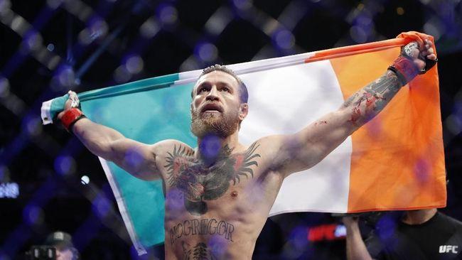 UFC 246: 40 Detik, McGregor Menang TKO Atas Cowboy Cerrone