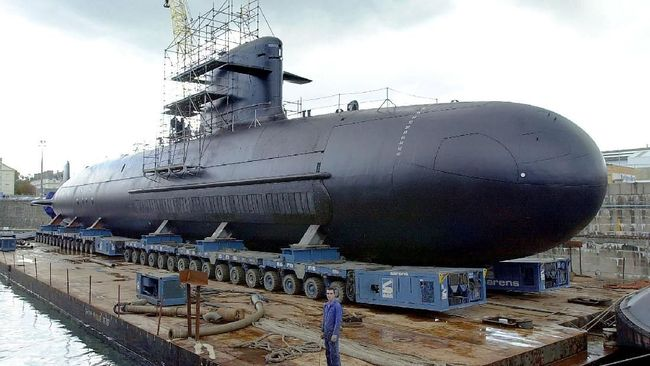 Spesifikasi Kapal Selam Scorpene Prancis yang Dilirik Prabowo