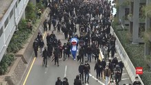VIDEO: Demonstran Hong Kong dan Polisi Kembali Bentrok
