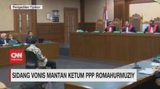 VIDEO: Eks Ketum PPP Romahurmuziy Divonis 2 Tahun Penjara