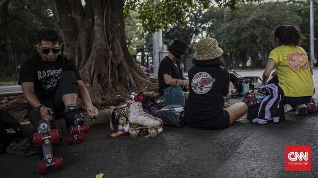 Komunitas Rad Supersonic membuka pintu bagi warga Jakarta dan sekitarnya yang ingin berlatih roller skates bersama mereka.