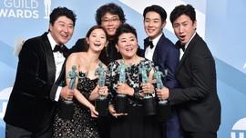 Pemain Parasite Dapat 'Standing Ovation' dari Hollywood
