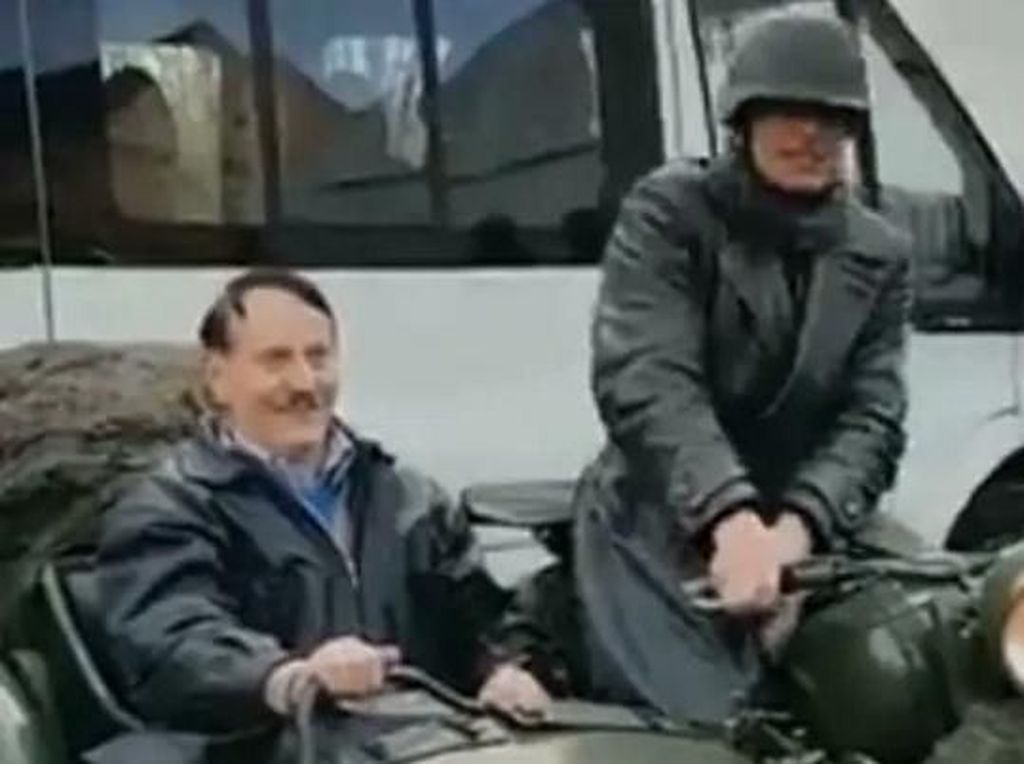 Dicari Polisi, Ini Penampakan Biker Bergaya Pemimpin Nazi