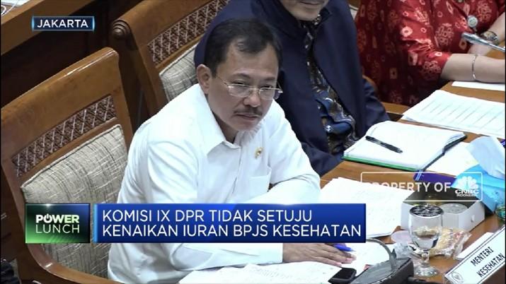 Hampir semua anggota komisi IX DPR menolak adanya kenaikan iuran tarif BPJS Kesehatan