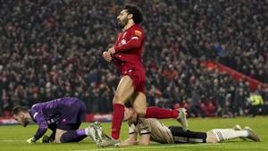 FOTO: Liverpool Buat MU Terkapar di Anfield