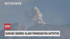 VIDEO: Aktivitas Gunung Semeru Meningkat