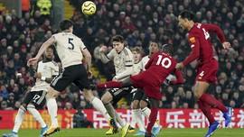 Hasil Liga Inggris: Liverpool Kalahkan MU 2-0 di Anfield