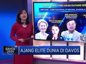 Ajang Elite Dunia di Davos