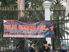 Surpres Soal Omnibus Law 'Cilaka' Dikirim ke DPR Pekan ini