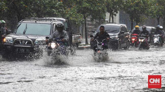 Hujan Deras, Sejumlah Wilayah Jakarta Tergenang