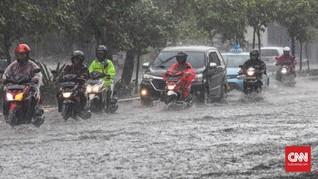 BMKG Prediksi Hujan Deras Masih Mengguyur Sepanjang Maret