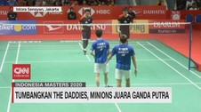 VIDEO: Indonesia Raih Juara Umum Indonesia Masters 2020