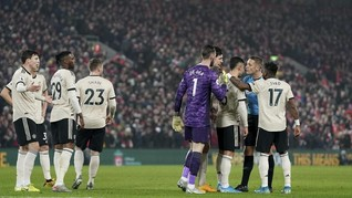 MU Terancam Sanksi FA Usai Kalah dari Liverpool